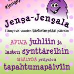 Tehomaattori Jenga-Jengala referenssi